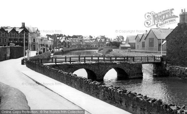 Bude, Nanny Moores Bridge c.1960