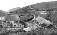 Bude, Olde Mill House and Tea Gardens, Combe Valley c1935