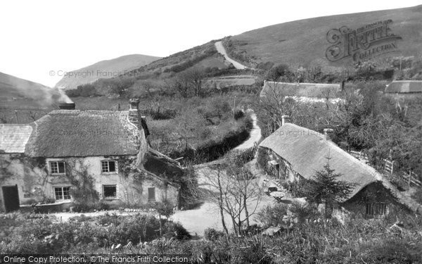 Photo of Bude, Olde Mill House and Tea Gardens, Combe Valley c1935
