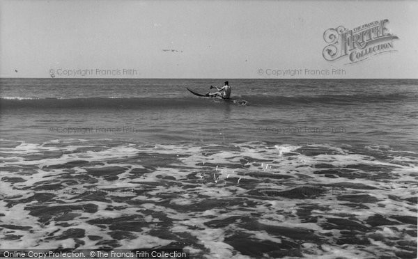 Bude, Riding The Surf c.1960