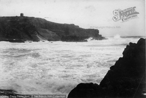 Bude, Rough Sea 1906