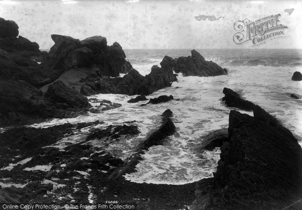 Bude, Saddle Rock 1906