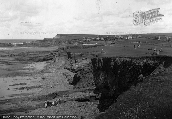Bude, Summerleaze Downs 1928