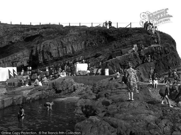 Bude, Swimming Pool 1931
