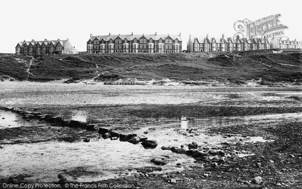 Bude, Terrace And Stepping Stones 1893