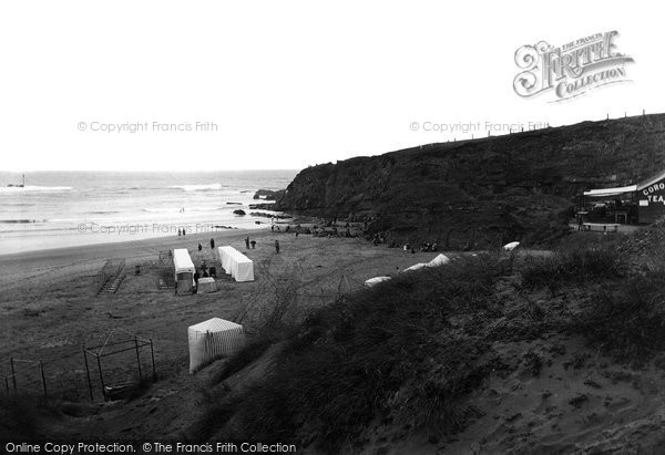Bude, The Bathing Beach 1920