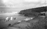 Bude, The Bathing Beach 1920