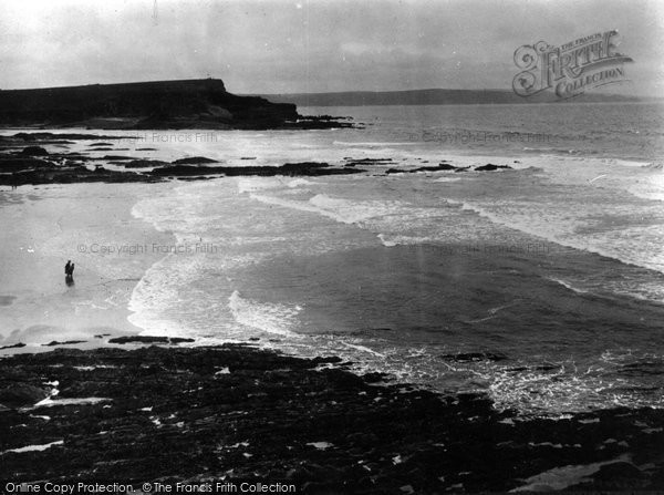 Bude, The Beach c.1930