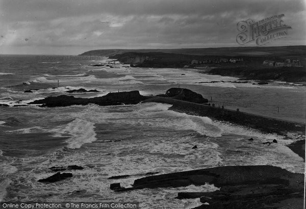 Bude, The Breakwater 1926