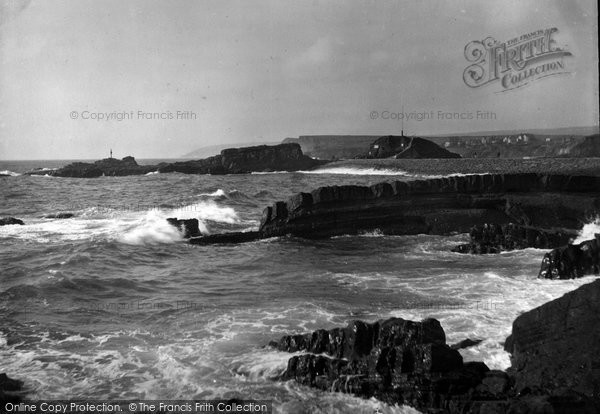 Bude, The Breakwater 1928
