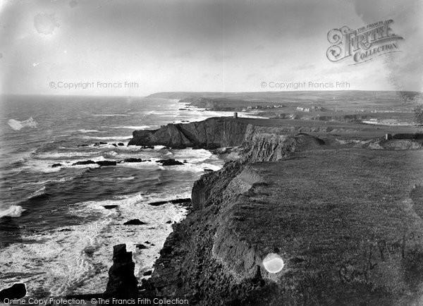 Bude, The Cliffs 1926