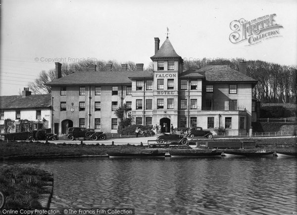 Bude, The Falcon Hotel c.1933
