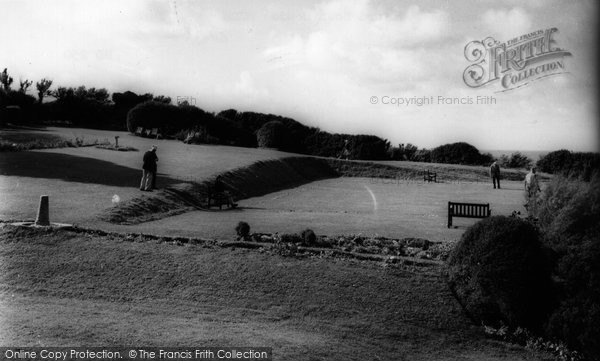 Bude, The Gardens & Efford Down Hotel c.1960