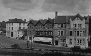 Bude, The Strand And The Globe Hotel 1929