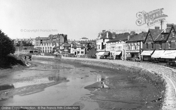 Bude, The Strand c.1960