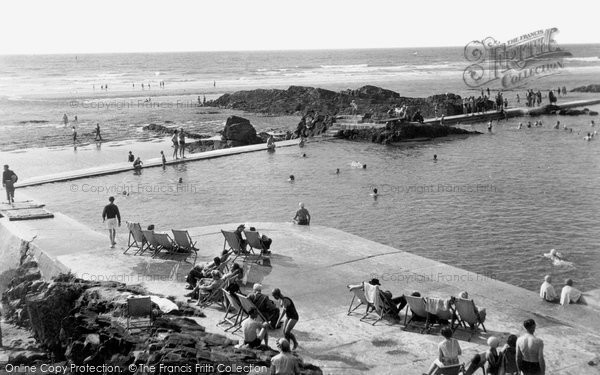 Bude, The Swimming Pool 1949