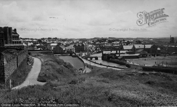 Bude, The Town c.1960