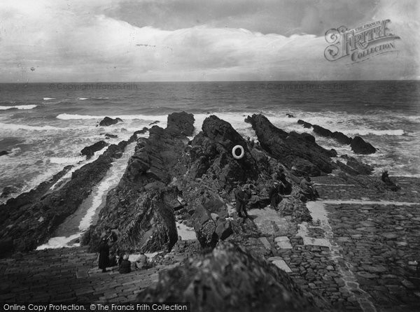 Bude, View From Chapel Rock 1920