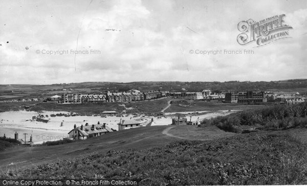 Bude, View From Efford Down c.1960