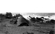 Bude, Whale's Back And Saddle Rock 1890