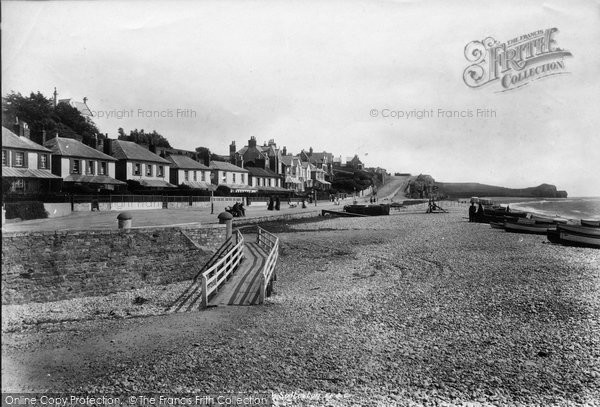 Budleigh Salterton, 1901