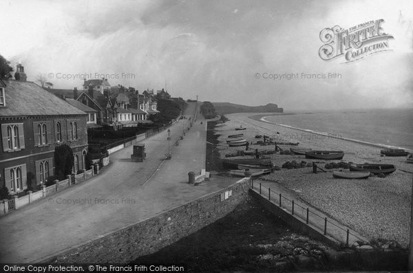 Budleigh Salterton, 1918