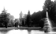 Budleigh Salterton, Bicton Church 1890