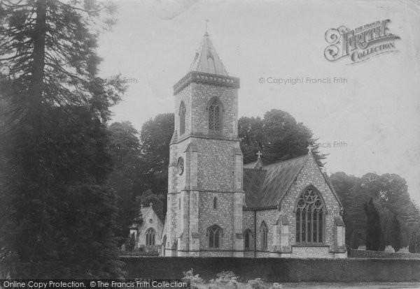Budleigh Salterton, Bicton Church 1906