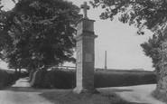 Budleigh Salterton, Bicton, Scriptural Directing Post 1906