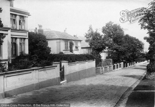 Budleigh Salterton, Cliff Terrace 1906
