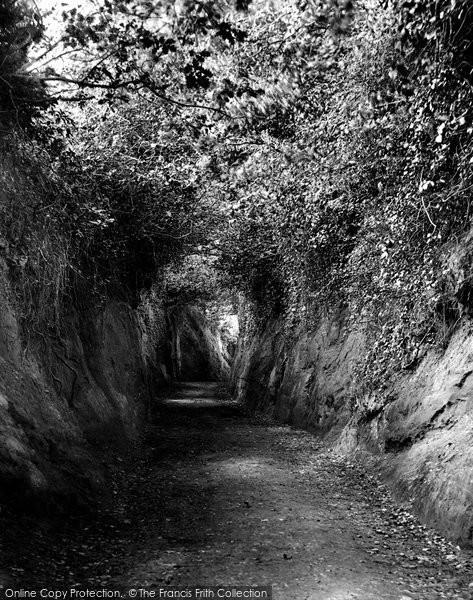 Budleigh Salterton, Dark Lane 1906