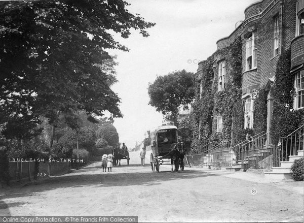 Budleigh Salterton, East Terrace c.1890