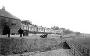 Budleigh Salterton, Esplanade From West 1890