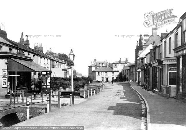 Budleigh Salterton, Fore Street 1898