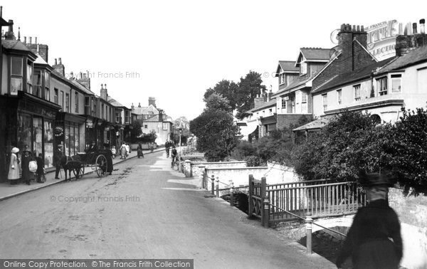Budleigh Salterton, Fore Street 1918