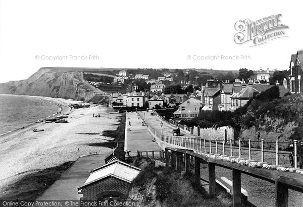 Budleigh Salterton, From The East 1898