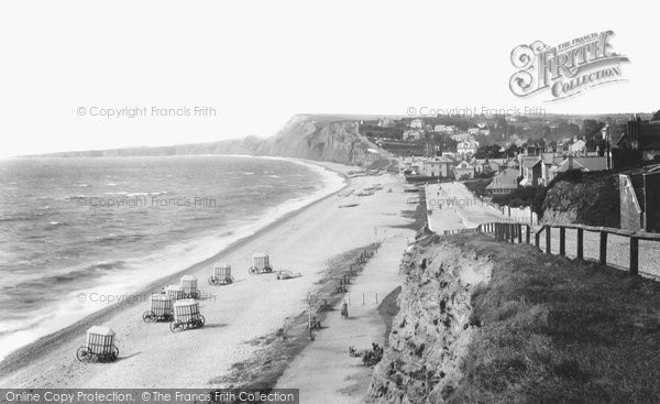 Budleigh Salterton, From The East 1901