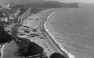 Budleigh Salterton, From The West 1918