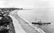 Budleigh Salterton, From West 1925