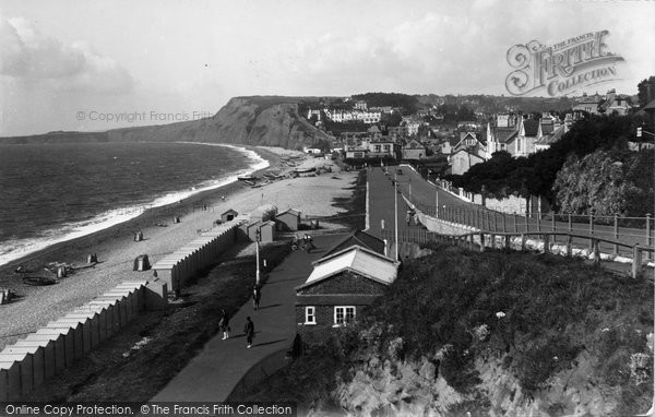 Budleigh Salterton, From West 1935