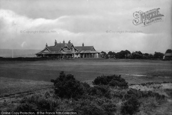 Budleigh Salterton, Golf House 1925