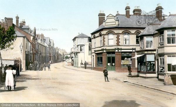 Budleigh Salterton, High Street 1898