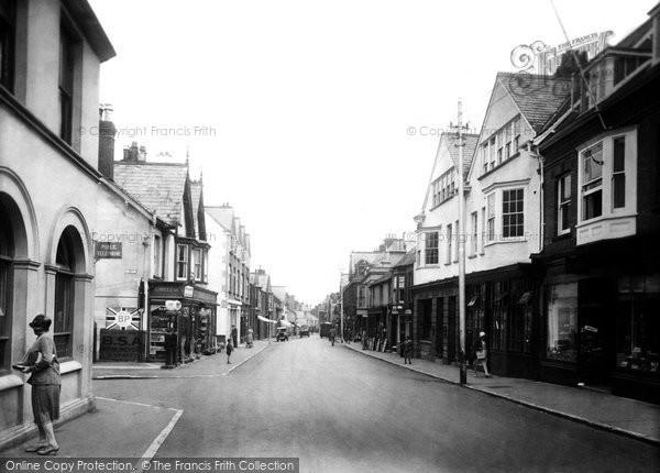 Budleigh Salterton, High Street 1931