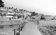 Budleigh Salterton, Marine Parade c.1955