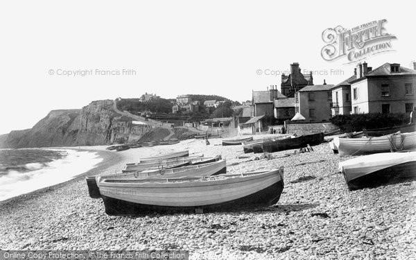 Budleigh Salterton, On The Beach 1901