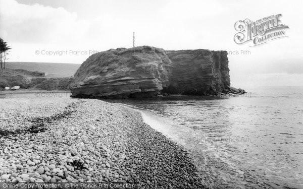 Budleigh Salterton, Otter Head c.1960
