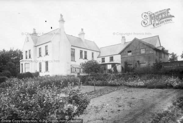 Budleigh Salterton, Otterbourne Hotel 1931