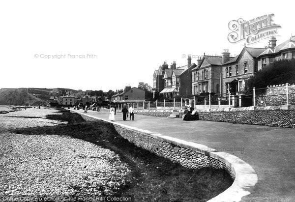 Budleigh Salterton, Parade 1898