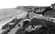 Budleigh Salterton, Promenade 1918