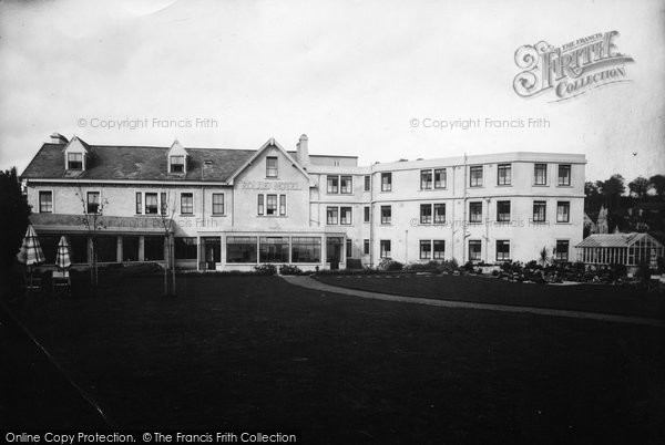 Budleigh Salterton, Rolle Hotel 1935